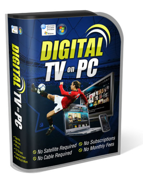Product picture Digital TV on PC Pro 2013